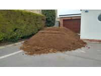 Light/sandy topsoil (FOC)