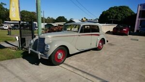1951 Armstrong Siddeley Whitley Grey 4 Speed Manual Sedan Capalaba Brisbane South East Preview