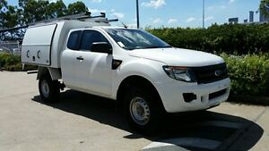 2012 Ford Ranger PX XL Super Cab 4x2 Hi-Rider White 6 Speed Sports Automatic Cab Chassis Acacia Ridge Brisbane South West Preview