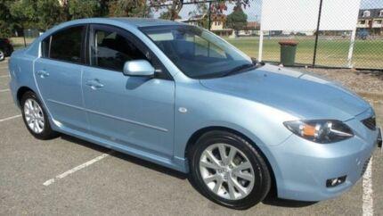 2007 Mazda 3 BK MY06 Upgrade Maxx Sport Blue 5 Speed Manual Sedan Granville Parramatta Area Preview
