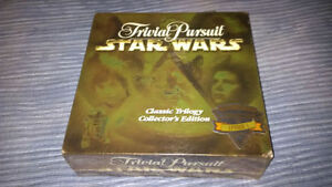 STAR WARS Trivia Pursuit - Classic Trilogy Collectors Edition
