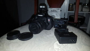 Canon EOS Rebel T5i DSLR Camera with 18-55mm