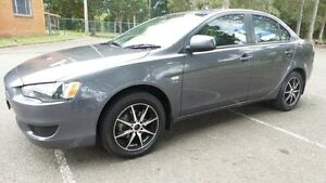 2008 Mitsubishi Lancer CJ ES Grey 6 Speed CVT Auto Sequential Sedan Granville Parramatta Area Preview
