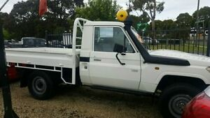 2012 Toyota Landcruiser White Manual Cab Chassis Dandenong Greater Dandenong Preview