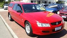 2004 Holden Crewman VY II Red 4 Speed Automatic Utility Victoria Park Victoria Park Area Preview