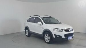 2011 Holden Captiva CG Series II 7 CX (4x4) White 6 Speed Automatic Wagon Perth Airport Belmont Area Preview