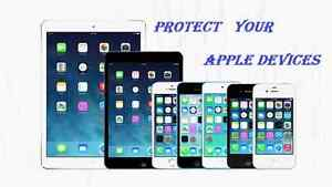 iPhone and iPad/mini protection cases and glass protector and