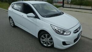 2017 Hyundai Accent RB5 MY17 Sport Chalk White 6 Speed Sports Automatic Hatchback Bassendean Bassendean Area Preview