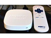 Now tv box & remote