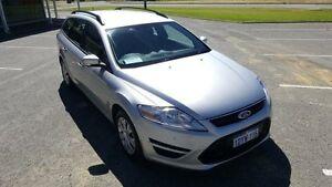 2012 Ford Mondeo MC LX Tdci Silver 6 Speed Direct Shift Wagon Maddington Gosnells Area Preview