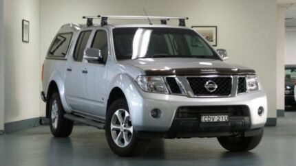 2011 Nissan Navara D40 MY11 ST-X 550 Silver 7 SPORTS AUTOMATIC Utility Artarmon Willoughby Area Preview