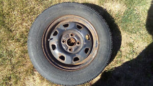Goodyear Snow Tires fit Hyundai Accent London Ontario image 2