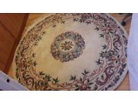 Chinese large round rug