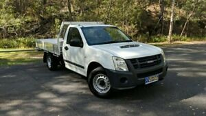 2008 Isuzu D-MAX MY09 SX SINGLE CAB White Manual Cab Chassis