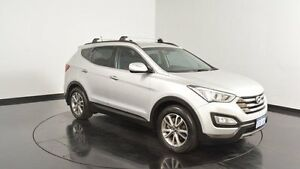2013 Hyundai Santa Fe DM MY13 Elite Sleek Silver 6 Speed Sports Automatic Wagon Welshpool Canning Area Preview