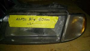 2000 Audi A4 Front Headlight Lamp Left Bosch