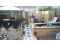 large three bedroom house Taunton for a swop to a 2 bedroom house bridgwater Somerset