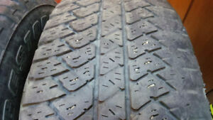 2 good All season truck tires Bridgestone 265/70R17 $80 both