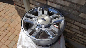 """18"""" Ford Rims Chrome Plated"""