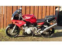 TRX 850 Yamaha motorbike