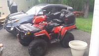 READY FOR HUNTING 2005 POLARIS 500