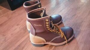 Brand New  Gorilla Lace up Steel toe Boots  size 6 1/2 EEE