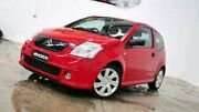 2006 Citroen C2 MY06 VTR Red 5 Speed Seq Manual Auto-Clutch Hatchback Williamstown North Hobsons Bay Area Preview