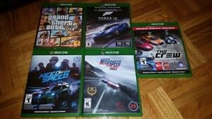 XBOX One Driving Games (Various Prices)   See list below for ga