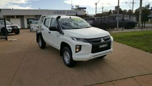 2018 Mitsubishi Triton GLX ADAS White 6 Speed Automatic D/Chass Young Young Area Preview
