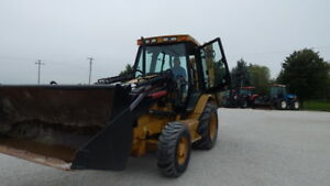 2004 Cat 420 D Backhoe