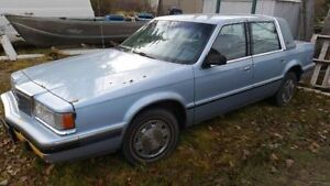 1991 Chrysler Dynasty *Low miles* 188k Very reliable $1100obo