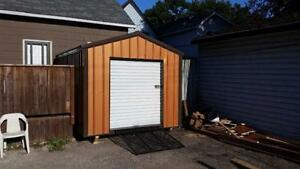 Custom Steel Frame Storage Sheds - Can be built on site