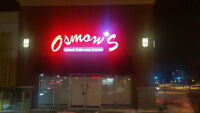 OSMOW'S– CASHIER/COOK – JOB OPPORTUNITY
