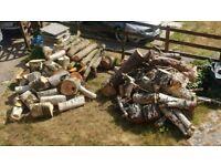 Logs Open Fire Log Burner Fire pit Aga Chiminea