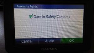 Garmin GPS' Photo Radar and RedLight Camera Database.