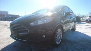 2015 Ford Fiesta TITANIUM Navigation (GPS),  Leather,  Heated Se