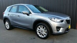2014 Mazda CX-5 MY13 Upgrade Grand Tourer (4x4) Silver 6 Speed Automatic Wagon Phillip Woden Valley Preview