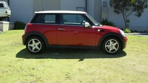 2008 Mini Clubman R55 Cooper Red 6 Speed Sports Automatic Wagon Silver Sands Mandurah Area Preview