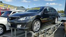 2009 Mazda 6 GH MY09 Diesel Charcoal Black 6 Speed Manual Wagon Medindie Walkerville Area Preview