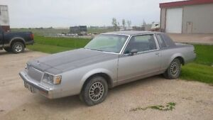 1986 Buick Regal Limited Coupe (2 door) (Monte, Cutlass, G Body)