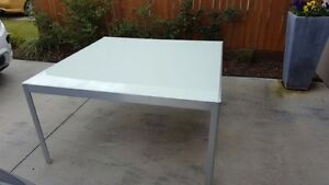 Design Initial Dining Table with Glass Top Warner Pine Rivers Area Preview
