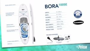 Bora 10ft SUP Package on Sale-with Paddle, Leash and Bag Instock