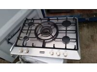 5 Burners Stainless Steel 'Stoves' Gas Hob - Excellent condition / Free local delivery
