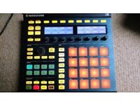 Native Instruments Maschine MK2 with software, Massive Syth, Komplete Elements MK2 and more.