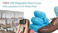 REAL ESTATE photographer - 3d virtual tour - FREE SHOE COVERS