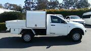 2012 Mitsubishi Triton MN MY12 GLX White 4 Speed Automatic Cab Chassis Acacia Ridge Brisbane South West Preview