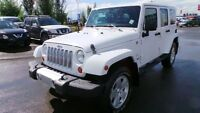 2012 Jeep Wrangler Unlimited SAHARA 4X4 Finance $216 Bi-weekly