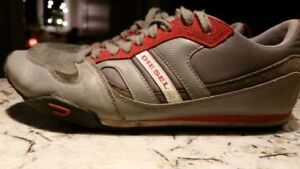 2 Pair of Shoes - Diesel & Kickslogix - Size 8! *NEW*