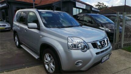 2012 Nissan X-Trail T31 ST-L Silver Constant Variable Wagon Greenacre Bankstown Area Preview