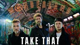 Take That Wonderland Live Ticket - Carrow Road, Norwich, June 15th